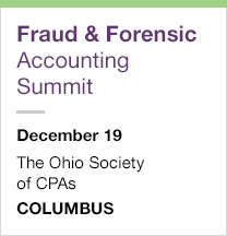 Fraud and Forensic Accounting Summit, December 19