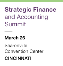 Strategic Finance and Accounting Summit, March 26