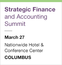 Strategic Finance and Accounting Summit, March 27