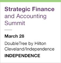Strategic Finance and Accounting Summit, March 28