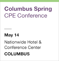 Columbus Spring CPE Conference, May 14