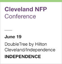 Cleveland Not for Profit Conference, June 19
