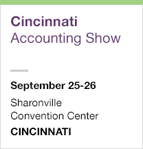 Cincinnati Accounting Show, September 25-26