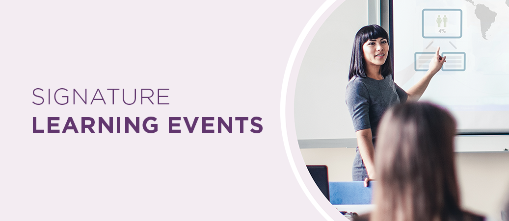 Signature Learning Events